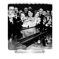 Cheers To You Shower Curtain by Jon Neidert