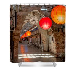 Chelsea Market I Shower Curtain by Clarence Holmes