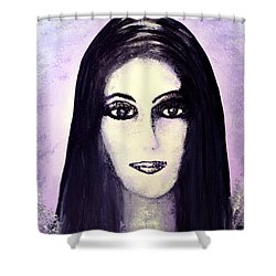 Cher Shower Curtain by Alys Caviness-Gober