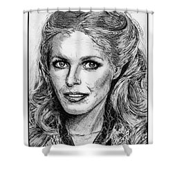 Cheryl Ladd In 1977 Shower Curtain by J McCombie