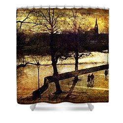 Chester Riverwalk Shower Curtain by Mal Bray
