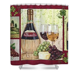 Chianti And Friends 2 Shower Curtain by Debbie DeWitt