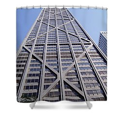 Chicago 1 Shower Curtain by Jennifer E Doll
