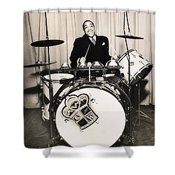 Chick Webb (1909-1939) Shower Curtain by Granger