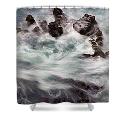 Chimerical Ocean Shower Curtain by Heidi Smith