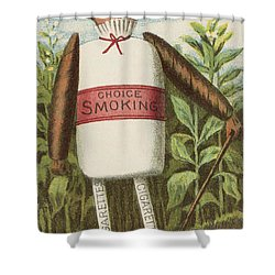 Choice Smoking Shower Curtain by Aged Pixel