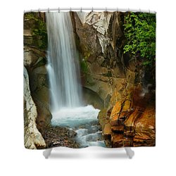 Christine Falls Shower Curtain by Inge Johnsson
