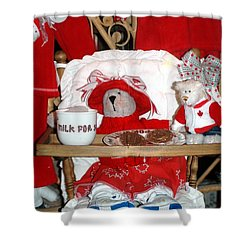 Christmas Delights Shower Curtain by Kathleen Struckle