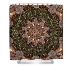 Christmas Wreath Shower Curtain by Lena Photo Art
