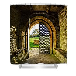 Church Of St Mary The Virgin Shower Curtain by Susie Peek