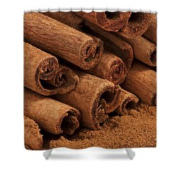Cinnamon Sticks 2 Shower Curtain by John Brueske