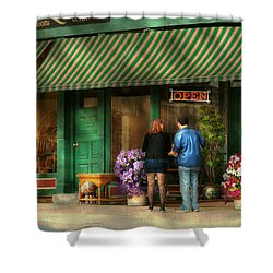 City - Canandaigua Ny - Buyers Delight Shower Curtain by Mike Savad