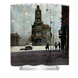 City Hall - Milwaukee Shower Curtain by Ryan Radke