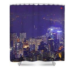 City Of Magic Shower Curtain by Midori Chan