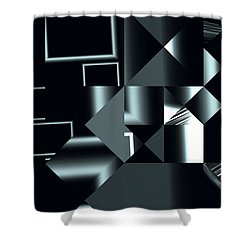 City Smart Shower Curtain by Judi Suni Hall