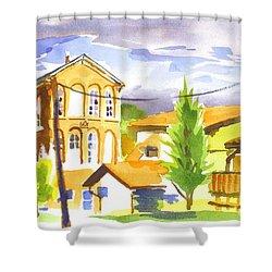 City Streets II Shower Curtain by Kip DeVore