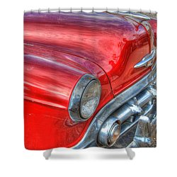 Classic Chevy Shower Curtain by Tam Ryan
