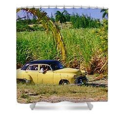 Classic Cuba Shower Curtain by Halifax Photographer John Malone