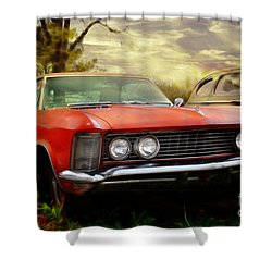 Classic Shower Curtain by Liane Wright