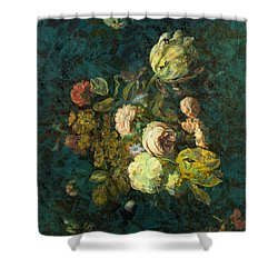Classical Bouquet - S04bt01 Shower Curtain by Variance Collections