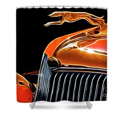 Classy Classic  Shower Curtain by Bob Christopher