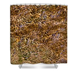 Clean Stream 3 - Featured 3 Shower Curtain by Alexander Senin