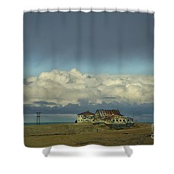 Clouds Of My Mind Shower Curtain by Evelina Kremsdorf