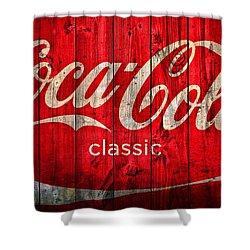 Coca cola barn photograph by dan sproul - Bathroom coca cola shower curtain ...