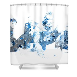 Coldplay Shower Curtain by Brian Reaves