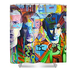 Coldplay Shower Curtain by Joshua Morton