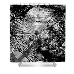 Collapsed Shower Curtain by Jack Zulli