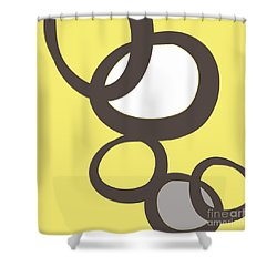 Collecting Stones Shower Curtain by Linda Woods