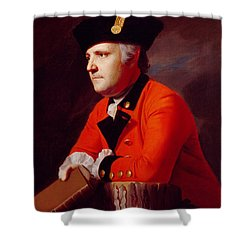 Colonel John Montresor Shower Curtain by John Singleton Copley