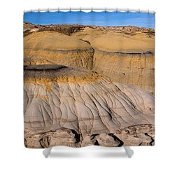 Colors Of The Badlands Shower Curtain by Vivian Christopher