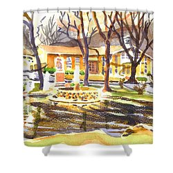 Colors On A Cloudy Day Shower Curtain by Kip DeVore