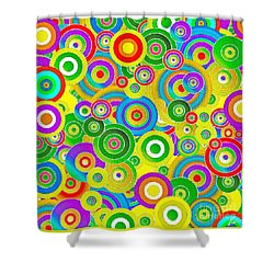 Colors Shower Curtain by Stefano Senise