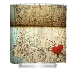 Come Find Me Shower Curtain by Jan Bickerton