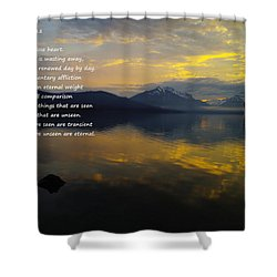Comfort Shower Curtain by Jeff Swan
