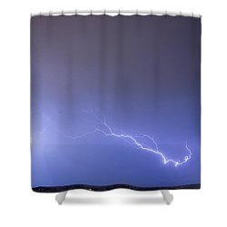 Coming In For A Landing Shower Curtain by James BO  Insogna