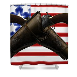 Constitutional Rights Shower Curtain by Cheryl Young