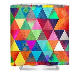 Contemporary 3 Shower Curtain by Mark Ashkenazi