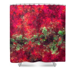 Contusion-03 Shower Curtain by RochVanh