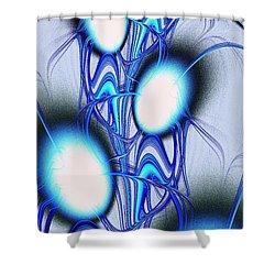 Conversation Shower Curtain by Anastasiya Malakhova