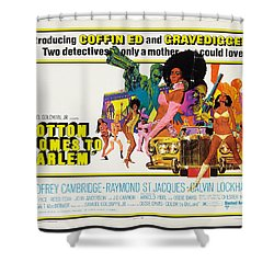 Cotton Comes To Harlem Poster Shower Curtain by Gianfranco Weiss