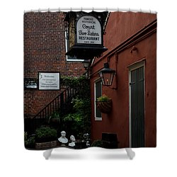 Court Of Two Sisters Shower Curtain by Susie Hoffpauir