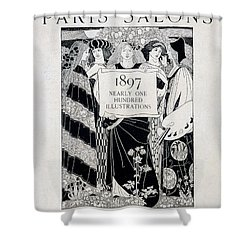 Cover For Art At The Paris Salons Shower Curtain by English School
