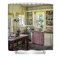 Cross Creek Country Kitchen Shower Curtain by Lynn Palmer