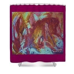 Crowman Shower Curtain by Ann Fellows