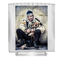 Cruel Street Life Shower Curtain by Stwayne Keubrick