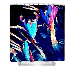 Crystal C Abstract Shower Curtain by Bill Caldwell -        ABeautifulSky Photography